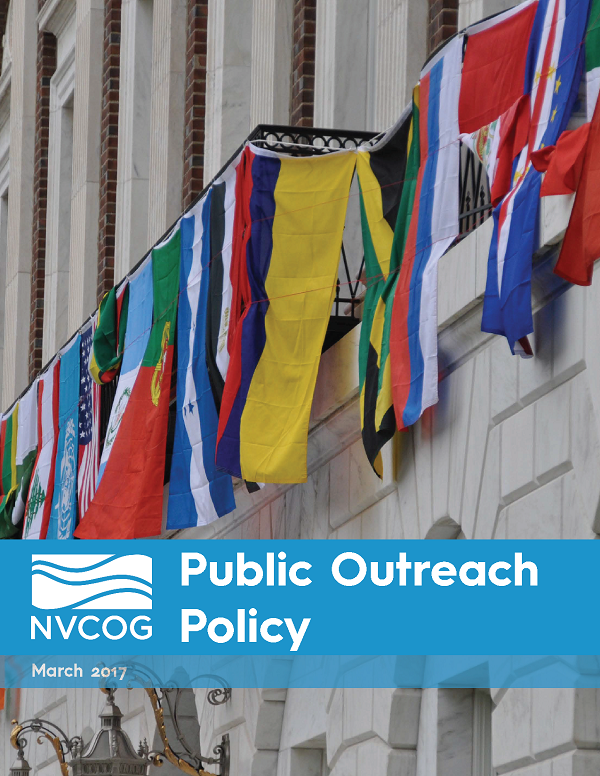 NVCOG Public Outreach Policy