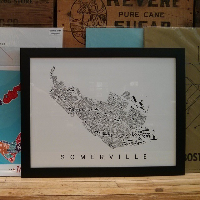 Somerville Figure Ground in Frame